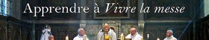 Image apprendre à vivre la messe